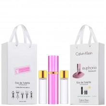 "Набор с феромонами Calvin Klein ""Euphoria Blossom"", 3х15ml"