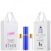 "Набор с феромонами Dolce and Gabbana ""Light Blue Living Stromboli"", 3х15ml"