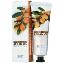 "Крем для рук Jigott ""Real Moisture Argan Oil Hand Cream"", 100ml"