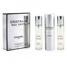 "Chanel ""Cristalle Eau Verte"", 3x20 ml"
