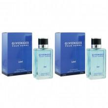 Наборы духов Givengee Pour Homme, 2х50 ml (мужской)