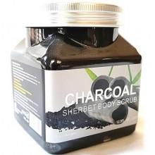 """Скраб для тела """"Wokali Charcoal Sherbet Body Scrub"""", 350 ml"""
