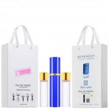 "Набор с феромонами Givenchy ""Pour Homme Blue Label"", 3х15ml"