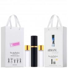 """Набор с феромонами Giorgio Armani """"Armani Code Pour Femme"""", 3х15ml"""