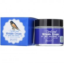 """Крем для лица антивозрастной Jigott """"Bird'S Nest Wrinkle Cream"""", 70ml"""
