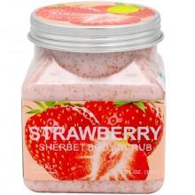 "Скраб для тела ""Wokali Strawberry Sherbet Body Scrub"", 350 ml"