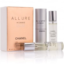"""Chanel """"Allure Homme Edition Blanche"""", 3x20 ml"""