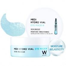"Увлажняющие патчи для глаз Wonjin ""Medi Hydro Vial Eye Mask"""