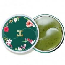 """Гидрогелевые патчи с лепестками зелёного чая """"Jayjun Green Tea Eye Gel Patch"""""""