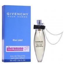 """Духи с феромонами Givenchy """"Pour Homme Blue Label"""", 30ml"""
