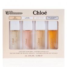 Подарочный набор с феромонами Chloe, 4x15 ml