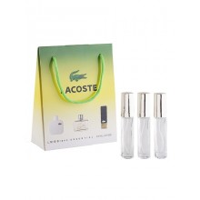 Подарочный набор Lacoste For Men, 3 х 15 ml