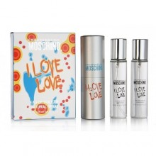 "Moschino ""Cheap and Chic I Love Love"", 3х20 ml"